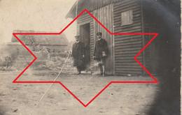 Photo Aout 1919 CANTAING-SUR-ESCAUT (près Cambrai) - Baraquement Provisoire (A229, Ww1, Wk 1) - Other Municipalities