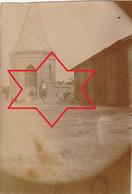 Photo Aout 1919 CANTAING-SUR-ESCAUT (près Cambrai) - Baraquement Provisoire Et Chapelle (A229) - Other Municipalities