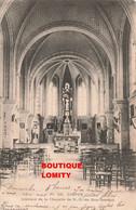 76 Dieppe Intérieur De La Chapelle Notre Dame De Bon Secours Cachet 1904 - Dieppe
