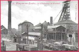 C.P Monceau-sur-Sambre  =   Charbonnage  De  MARTINET - Charleroi