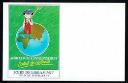 LIBRAMONT - 57 E Foire Agricole - 26-30 Juillet 91 - Non Circulé - Not Circulated - Nicht Gelaufen. - Libramont-Chevigny