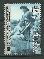 POLAND MNH ** 4184 Centenaire Du Corps De Secouristes Volontaires Du Mont Tatra - Ongebruikt