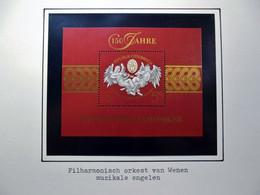 Österreich - Austriche - Austria - 1992 - 2054 Block 11 150 Jahre Wiener Philharmoniker  - Postfrisch - MNH - 1 Value - 1991-00 Unused Stamps
