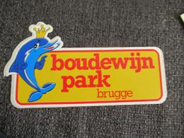 Sticker Autocollant Boudewijnpark Brugge - Stickers