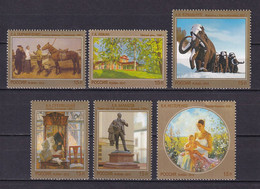 RUSSIA 2012 #1612-1617. Contemporary Russian Art. MNH - Nuevos