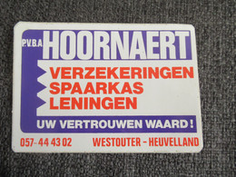 Sticker Autocollant Hoornaert Westouter Heuvelland - Stickers