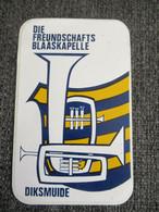 Sticker Autocollant Die Freundschaftskapelle Diksmuide Fanfare - Autocollants
