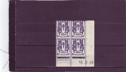 N°673 - 50c CHAINES BRISEES - D De C+D - 3° Tirage Du 7.2.46 Au 1.3.46 - 15.2.1946 - - 1930-1939
