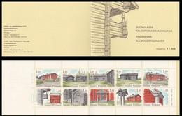 Finland 1979, Farm Houses, MNH Stamps Set - Booklet - Ongebruikt