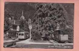 OLD POSTCARD SWITZERLAND -   BAHN - RAILWAYS - VITZNAU RIGI BAHN - LU Lucerne