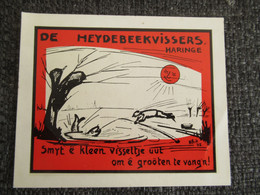 Sticker Autocollant De Heydebeekvissers Haringe - Stickers