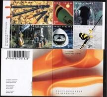 Finland 1999, Finish Design, MNH Stamps Set - Booklet - Nuevos