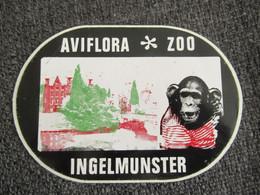 Sticker Autocollant Aviflora Zoo Ingelmunster - Stickers