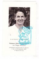 DP Photo - Marguerite 'Maggy' Nolens ° Hasselt 1913 † Spa 1967 X Albert Courtejoie (° Stavelot) - Devotion Images