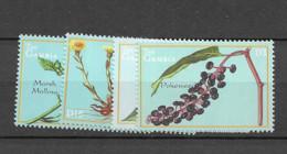 2000 MNH Gambia - Heilpflanzen