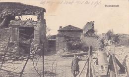 ( 55 ) - Hennemont Alarmglocke  Cloche D' Alarme  Carte  Allemande 1° Guerre - Other Municipalities
