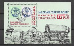 1998 MNH Romania Block 311 - Blocks & Sheetlets