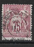 1896 SAGE Type 1 YT 71 Oblitéré - 1876-1878 Sage (Type I)