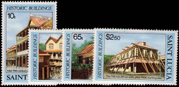 St Lucia 1984 Historic Buildings Unmounted Mint. - St.Lucie (1979-...)
