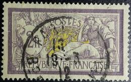 FRANCE N° 122 Merson 2Fr. Perforé 'c' Crédit Lyonnais (Paris, Seine). Oblitéré CàD Paris. TB Centrage. - 1900-27 Merson