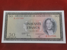 Luxembourg, 50 Francs Charlotte 1961. Uncirculated - Luxembourg