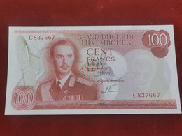 Luxembourg, 100 Francs Jean 1970 . Uncirculated - Luxembourg