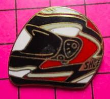 421 Pin's Pins / Beau Et Rare : Thème  MOTOS / CASQUE SHOEI - Motos