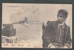 CP - Ill. - Le Gramophone   - Bergeret - Bergeret