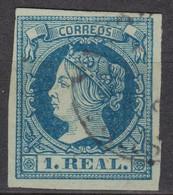 1860 Ed. 55 Matasellos Fechador - Used Stamps