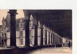 CPA - 44 - 44  -  CHATEAUBRIANT - COLONNADE DU CHATEAU - N° 240 - - Châteaubriant