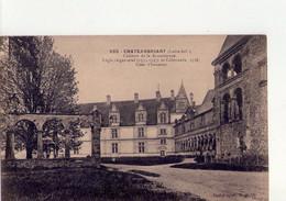 CPA - 44 - 45  -  CHATEAUBRIANT - CHATEAU DE LA RENAISSANCE - LOGIS SEIGNEURIAL ET COLONNADE - COUR D'HONNEUR - - Châteaubriant