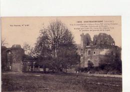 CPA - 44 - 47  -  CHATEAUBRIANT - VUE D'ENSEMBLE DU CHATEAU FORT - CHATELET D'ENTREE - COLONNADE ET DONJON - - Châteaubriant