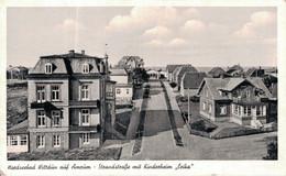 80201- Nordseebad Wittdün Auf Amrum, Strandstraße Mit Kinderheim - Föhr