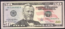 USA 50 Dollars 2017A B - UNC # P- New < B - New York NY > - Billets De La Federal Reserve (1928-...)