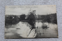 Cpa 1911, Saucourt, Les écluses, Paysage Sur Le Rognon, Haute Marne 52 - Sonstige Gemeinden