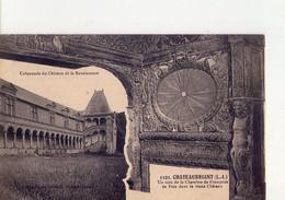 CPA - 44 - 50  -  CHATEAUBRIANT - COLONNADE DU CHATEAU DE LA RENAISSANCE - UN COIN DE LA CHAMBRE DE FRANCOISE DE FOIX - - Châteaubriant