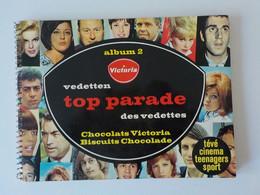 1960 Sixties Album  N° 2 Chocolat Victoria Top Parade Des Vedettes Chanteurs Cinéma Sports Beattles Gabin J. Fonda .. - Victoria