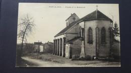 PONT DU BOIS - L'église Et Le Monument - Altri Comuni