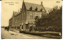 CPA - Carte Postale - Belgique - Cortemarck - Hôpital - 1924 (DO17159) - Kortemark