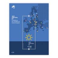 Portugal ** & European Union Portuguese Presidency 2021 (77765) - Blocks & Sheetlets