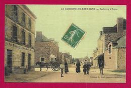 CPA La Guerche De Bretagne - Faubourg D'Anjou - La Guerche-de-Bretagne
