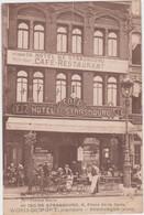 Dunkerque - Hotel De Strasbourg (gelopen Kaart Zonder Zegel) - Dunkerque