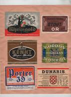 Rheingold Stout Bouchart Kennt Gordon Porter 39 Dunaris Adelshoffen Gueuze Rona Union - Sin Clasificación