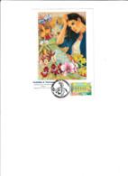 Carte Philatélique Orchidées Et Tourisme 1998,Dessin R.Irolla - Châlons-sur-Marne