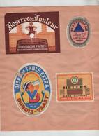 Bière Dufouleur Bass Pale Ale Dubois Vaast Helles Ixelberg Valdor Valextra Maubeuge Vilfort 40 - Cerveza