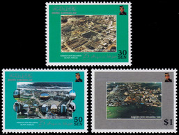 ✔️ Brunei 1995 - 25 Years Capital Bandar Seri Begawan - Mi. 490/492 ** MNH - Brunei (1984-...)