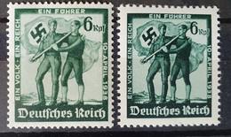 Deutsches Reich 1938, Mi 662-63 MNH Postfrisch - Unused Stamps