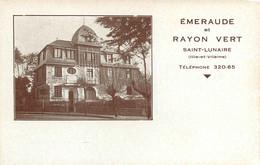 060621 - 35 EMERAUDE ET RAYON VERT SAINT LUNAIRE - Villa Demeure Pub - Saint-Lunaire