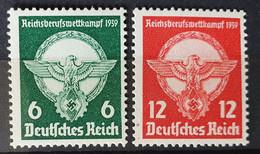 Deutsches Reich 1939, Mi 689-90 MNH Postfrisch - Ongebruikt