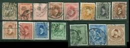 Afrique - EGYPTE - Yt Poste 69 70 73 86 87 118 119 122 123 124 72 125 125A 159 LIQUIDATION Oblitérés - Used Stamps